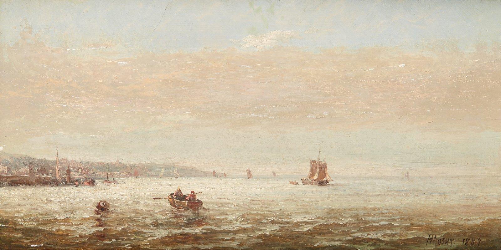 Untitled work. 1888. Oil on panel.