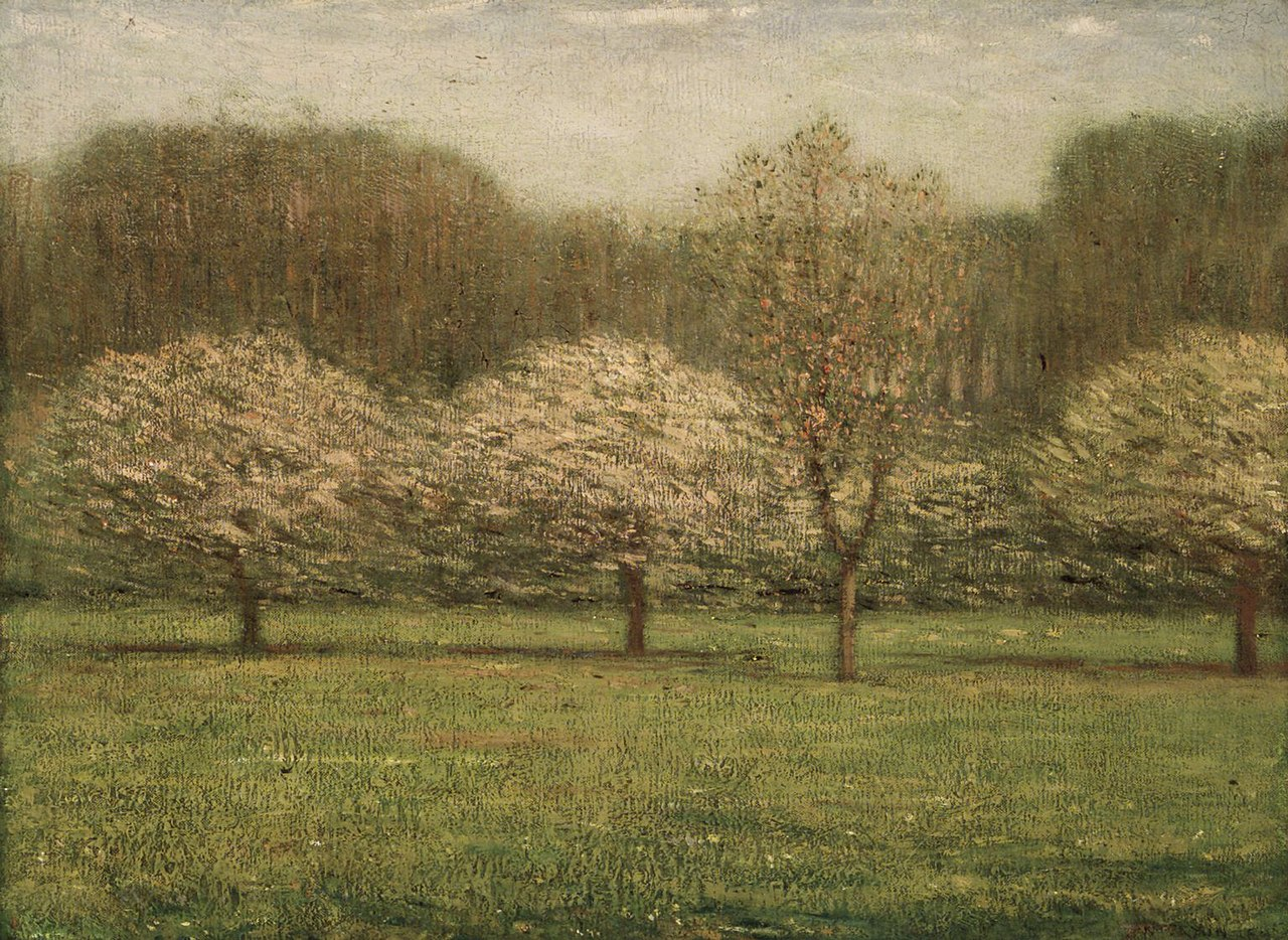 """Apple Blossoms."" ca. 1895."