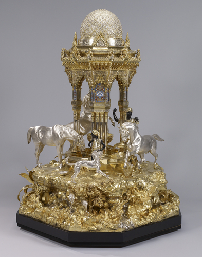 """The Alhambra"" table fountain. 1852-53."