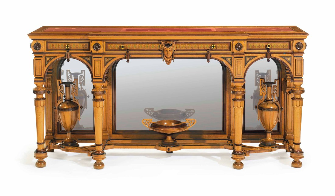 Console table. Neo-Grecian in style.1869-71.