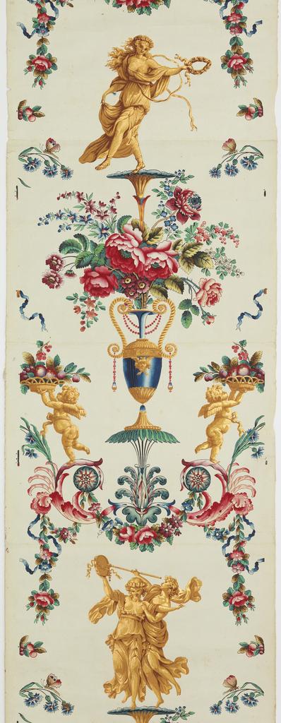 Wallpaper. 1788.