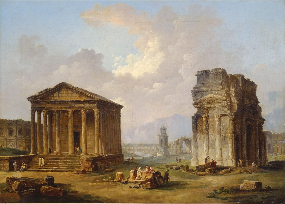 """""""Antiquities of Provence."""" ca. 1790-1800."""