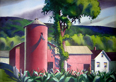 Rural landscape. ca. 1945-55.