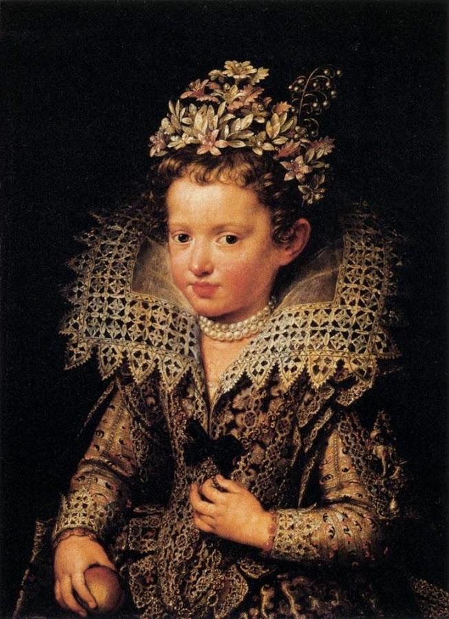 Portrait of Eleonora of Mantua as a Child. 1605.
