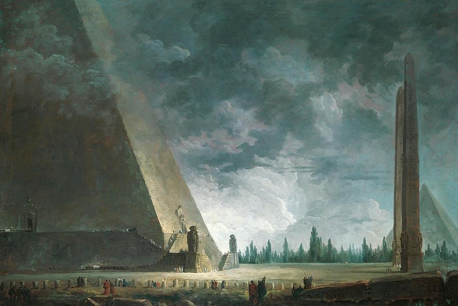 """""""Fantaisie Egyptienne."""" 1760."""