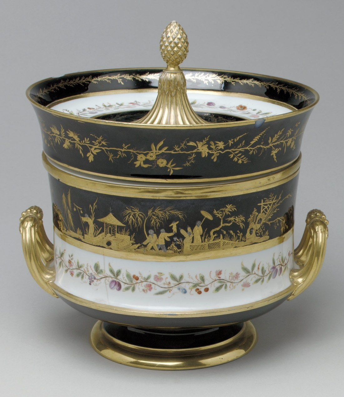 Ice cream cooler. 1805.