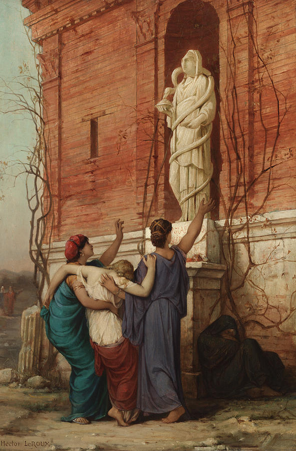 """Invocation To The Goddess Hygieia."""
