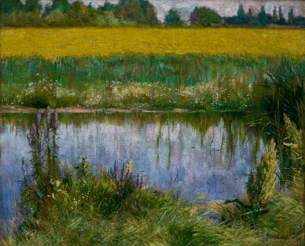 """""""A lupin field."""" 1891."""