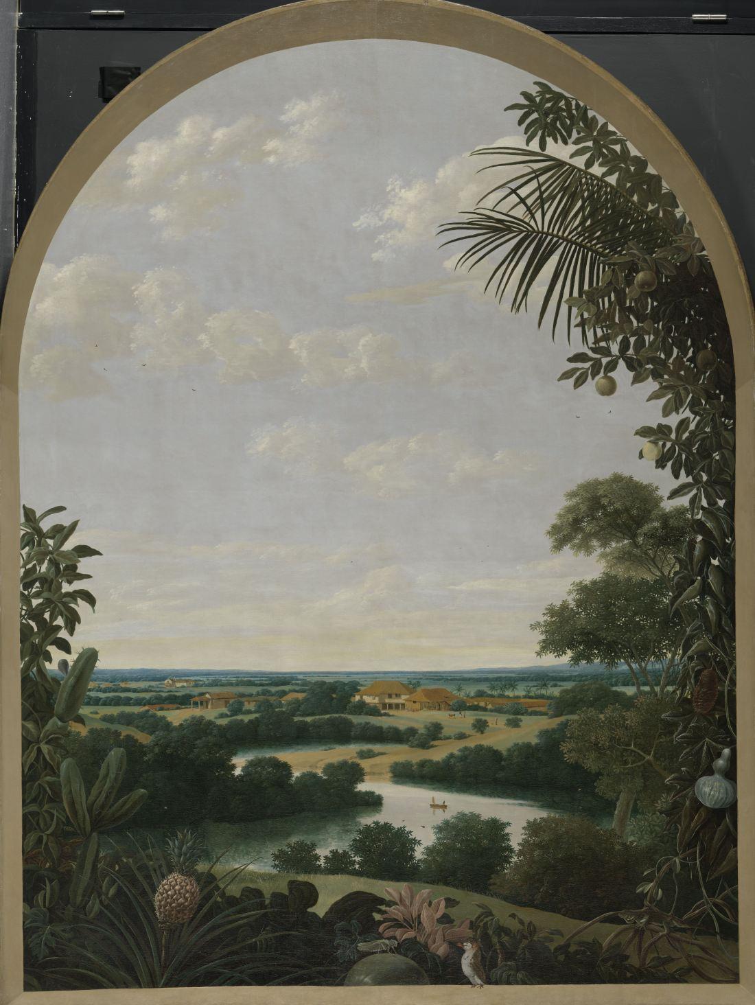 """""""Landscape in Brazil."""" 1652."""