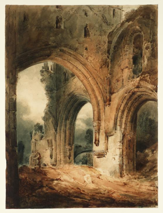 """Llanthony Abbey."" 1801."
