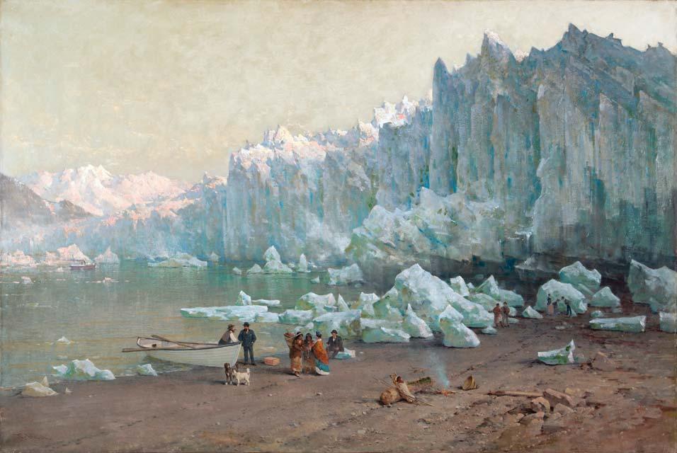 """Muir Glacier, Alaska."" 1887-88."