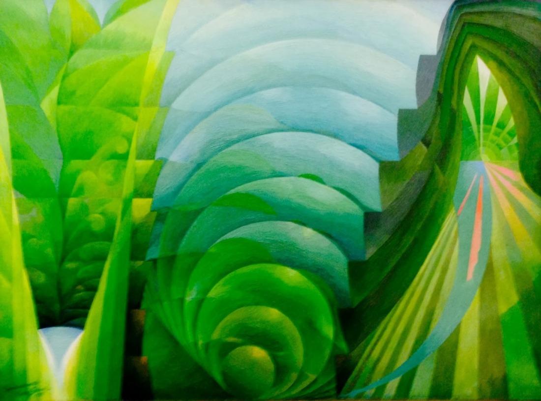 """Green Symphony."" 1935."