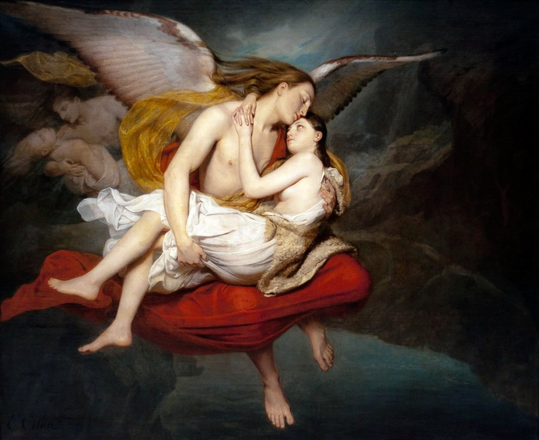 """""""Les amours des anges."""" 1834."""