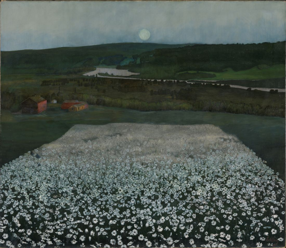 """Flower Meadow in the North."" 1906."
