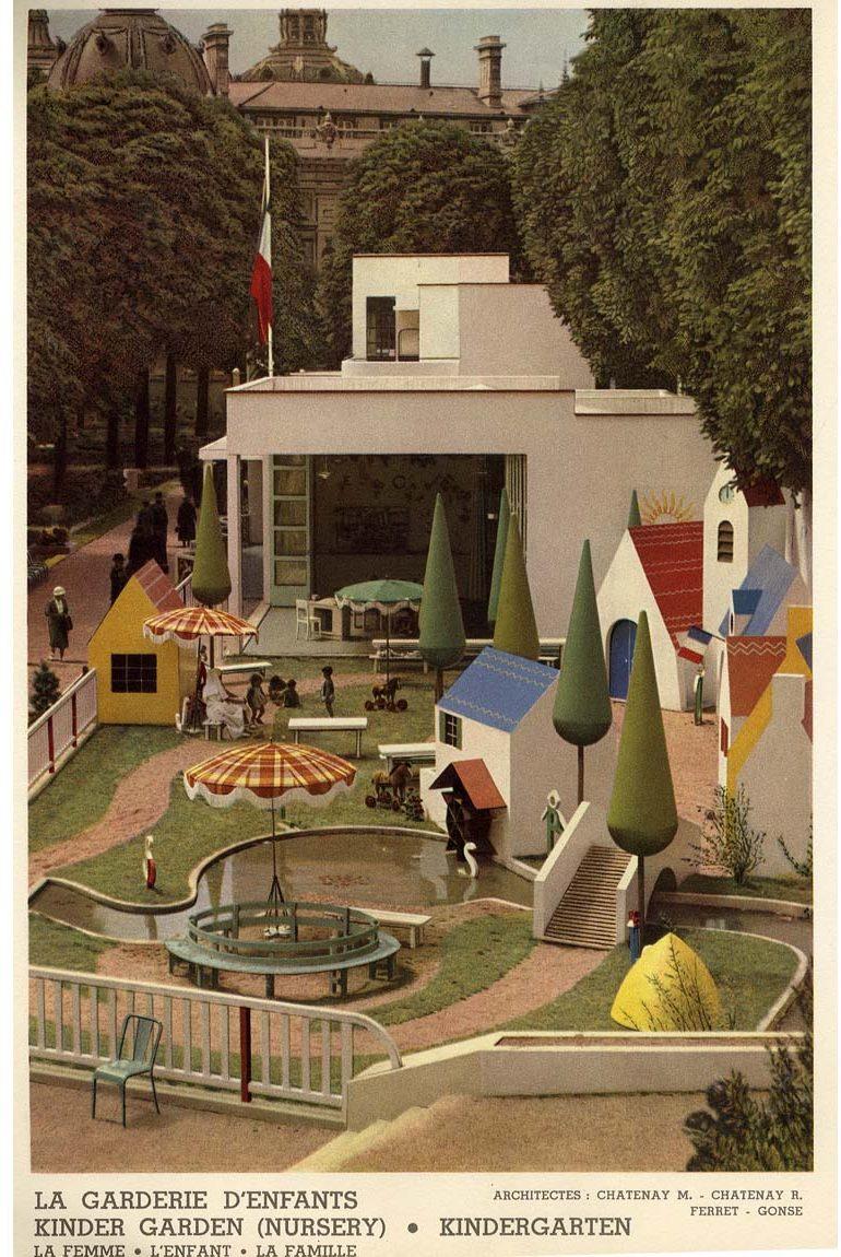 La Garderie d'Enfants. 1937.