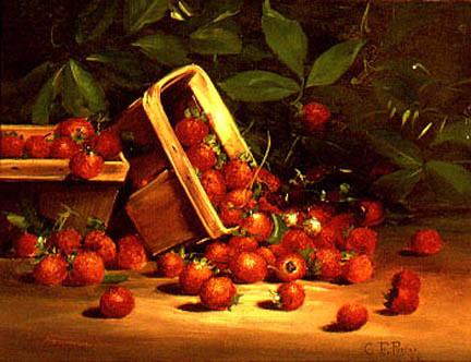 """""""Strawberries."""" 1888."""