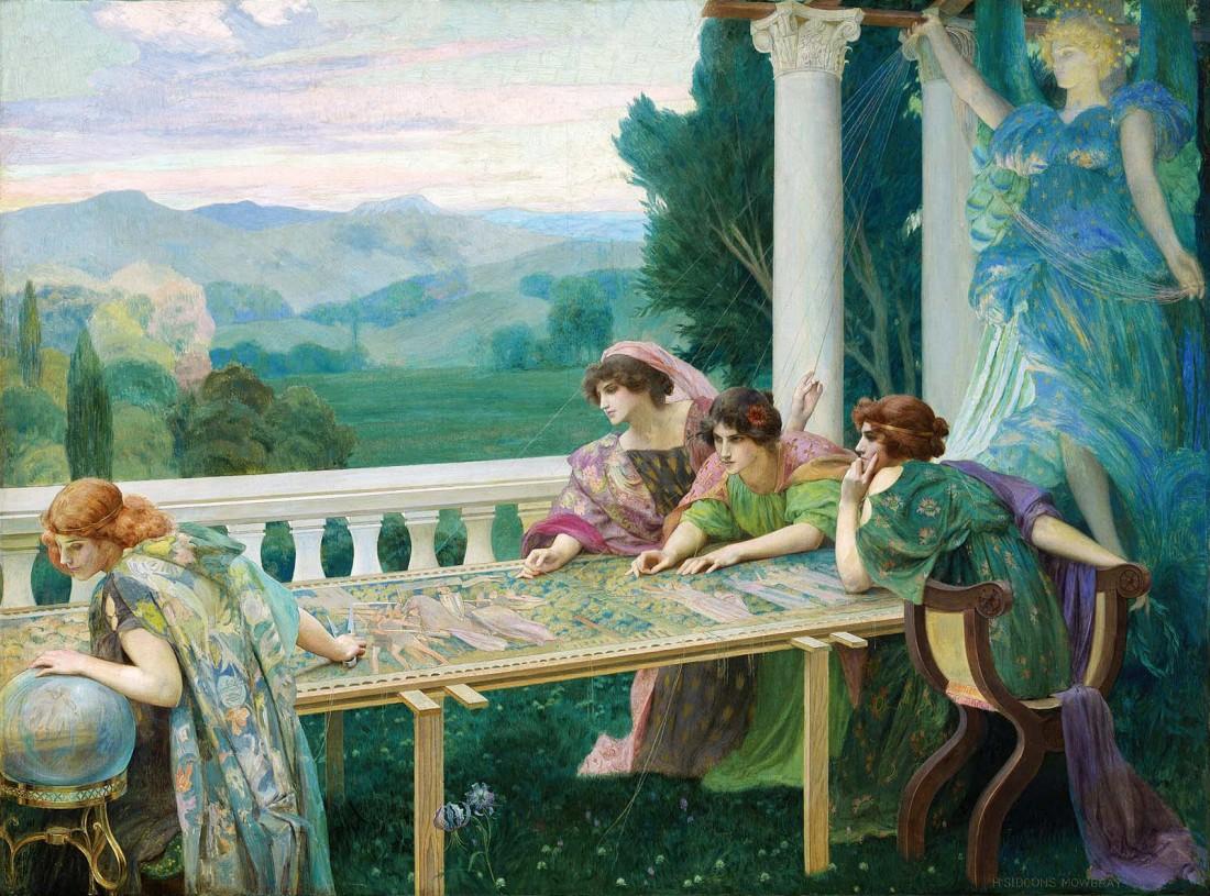 """Le Destin."" 1896. Oil on canvas. ("