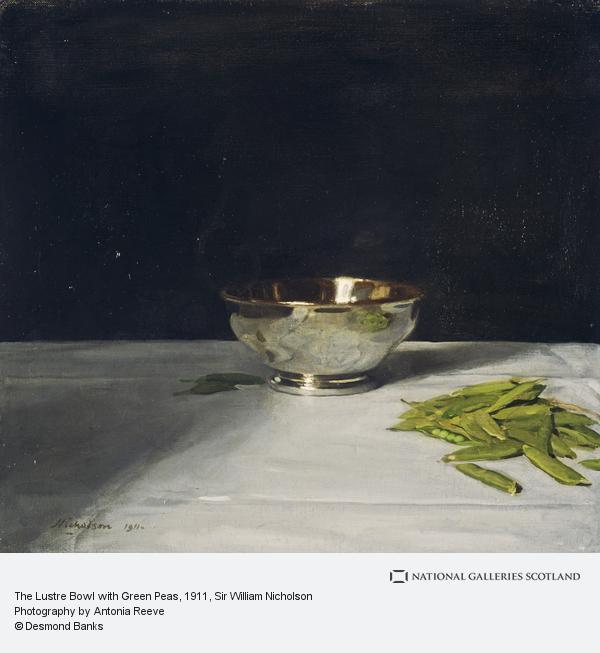 """The Lustre Bowl with Green Peas."" 1911. Oil on canvas."
