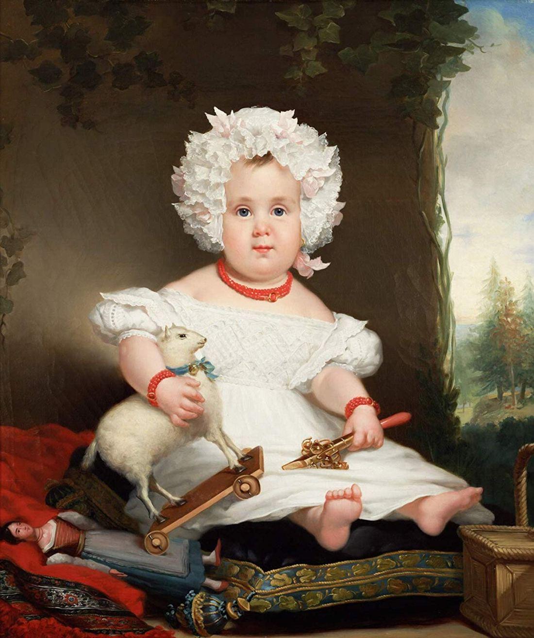 Portrait of Catharina Elisabeth Rente Linsen. 1831.