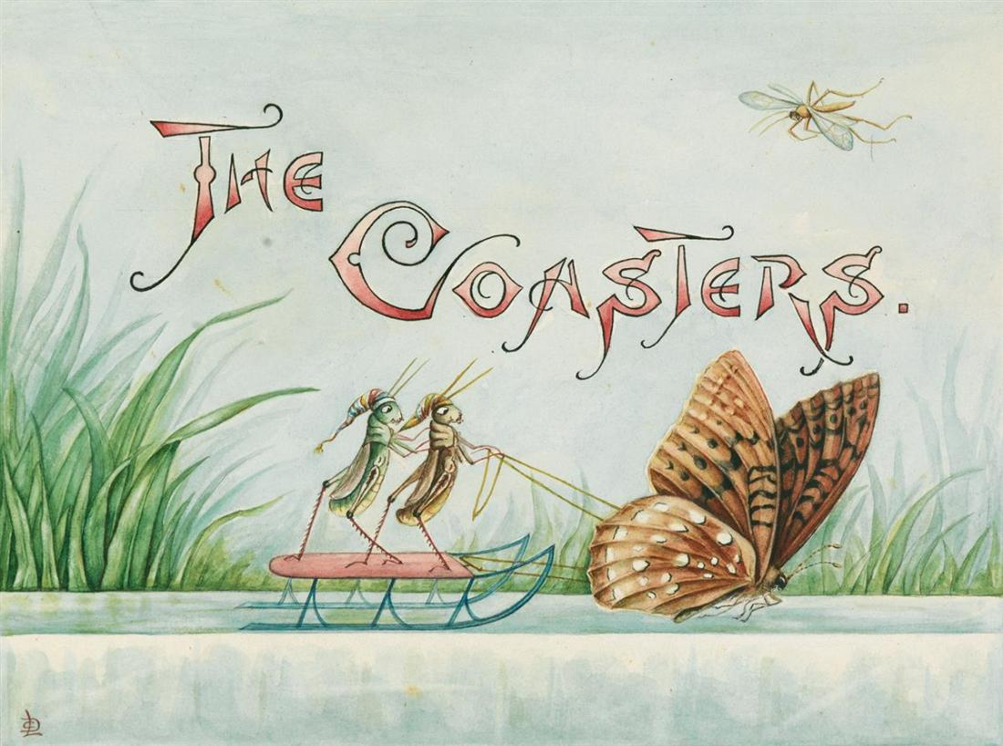 """The Coasters."" Illustration 1."