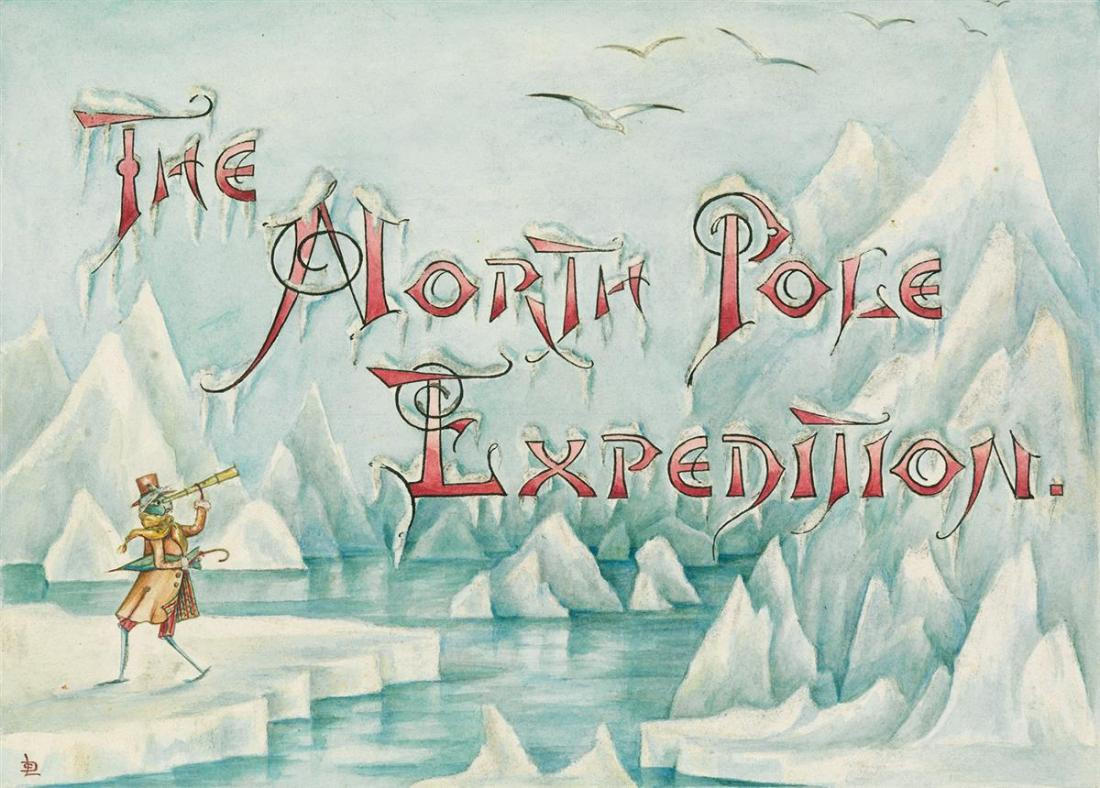 """The North Pole Expedition."" ca. 1880."