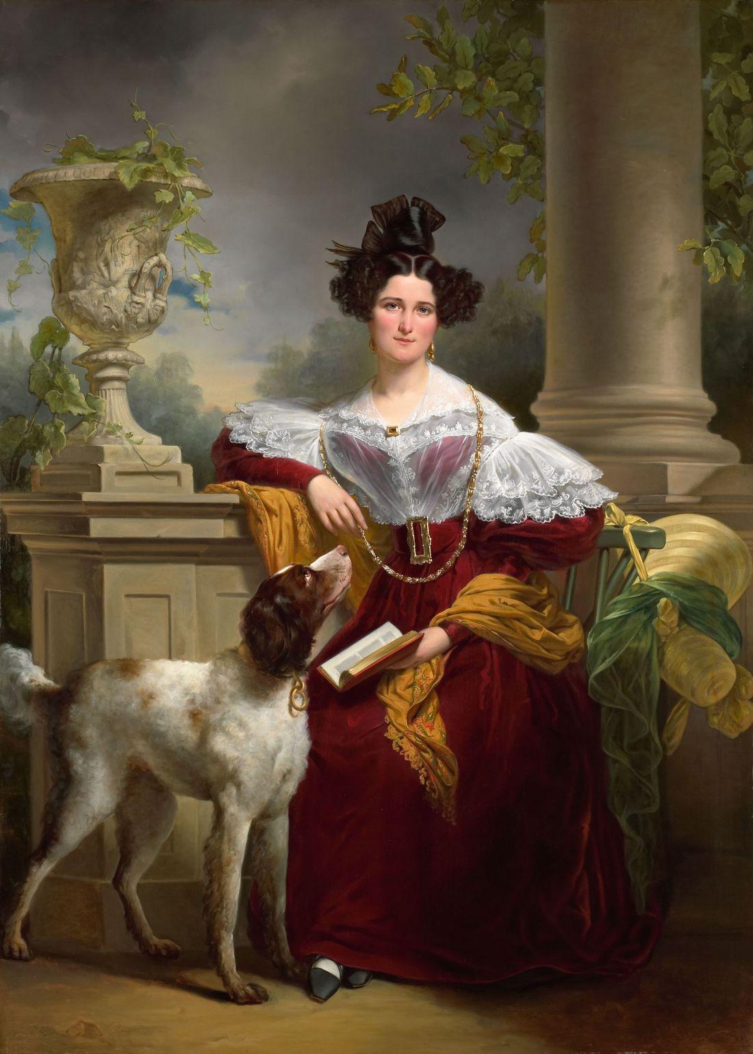 """Portrait of Alida Christina Assink."" 1833."