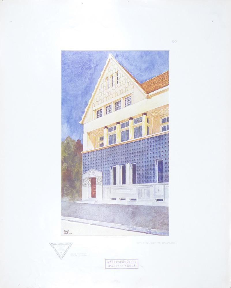 """""""Inv. F. W. Jochem, Darmstadt."""" Tafel 90."""