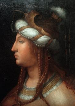 """Roxelana Hürrem Sultan."" 1556."