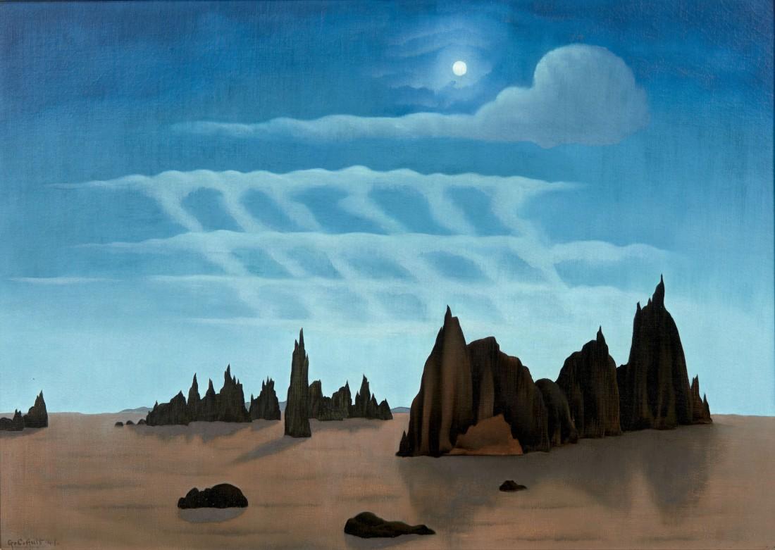 """""""Moonlit Desert."""" 1941."""