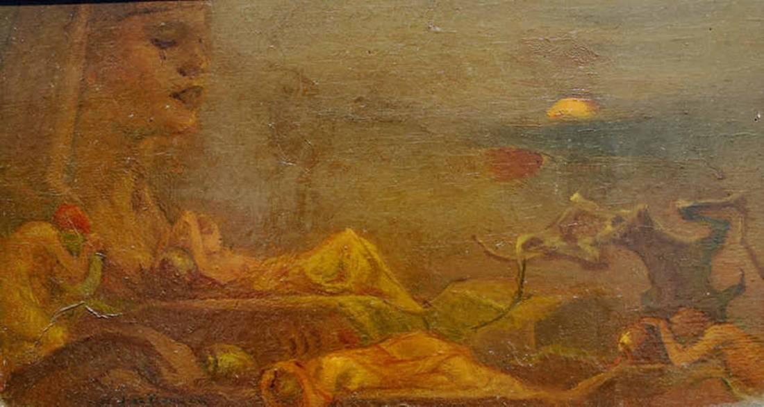 """Sirenes."" ca. 1938."