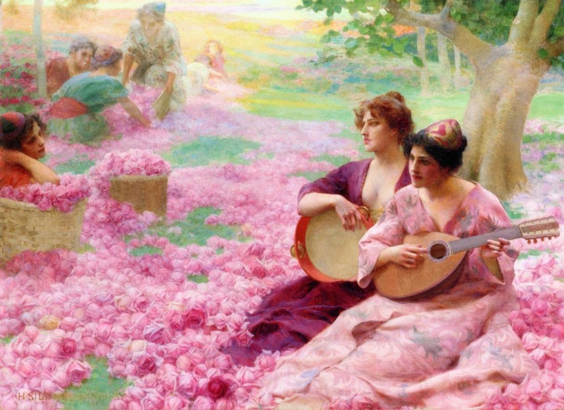 Henry Siddons Mowbray - The Rose Festival