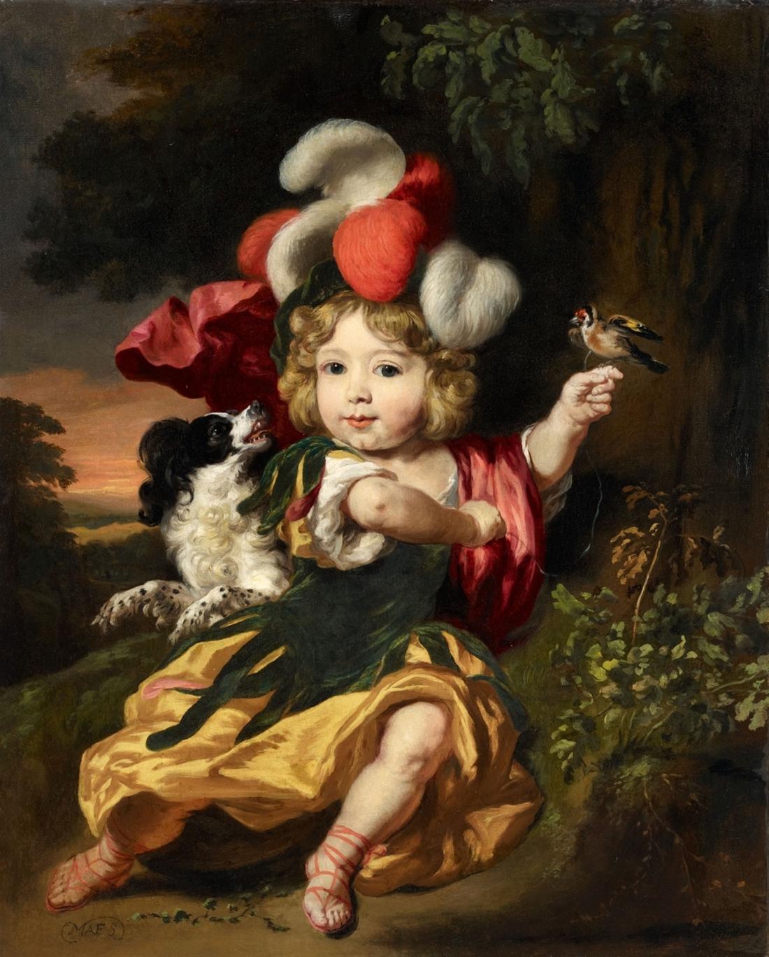 Lempertz-1057-1518-Alte-Kunst-Nicolaes-Maes-Portrait-of-a-Boy-with-a-