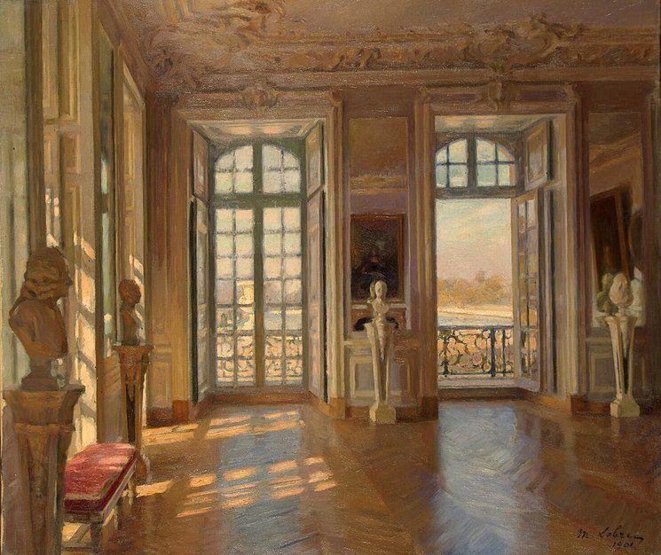 """""""De Salon du Dauphin in Versailles."""" 1901."""