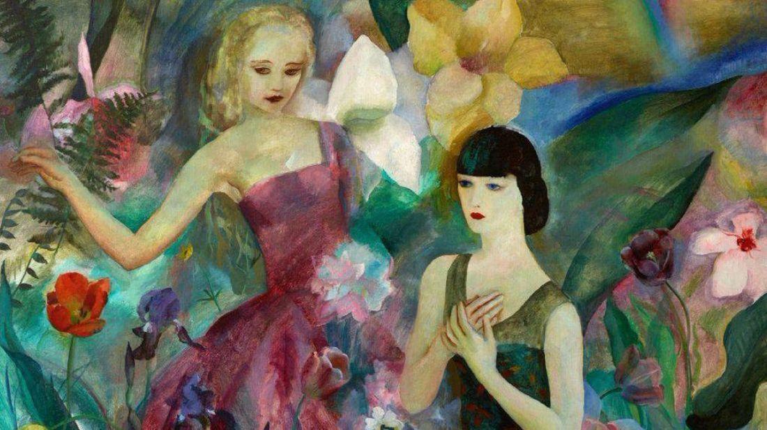 """Fantasy."" 1928. Oil on canvas."