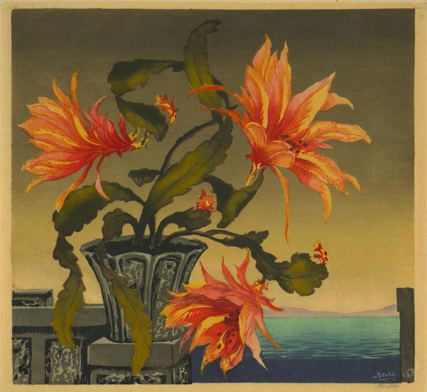 Tigerlily. No date. Colored woodblock.