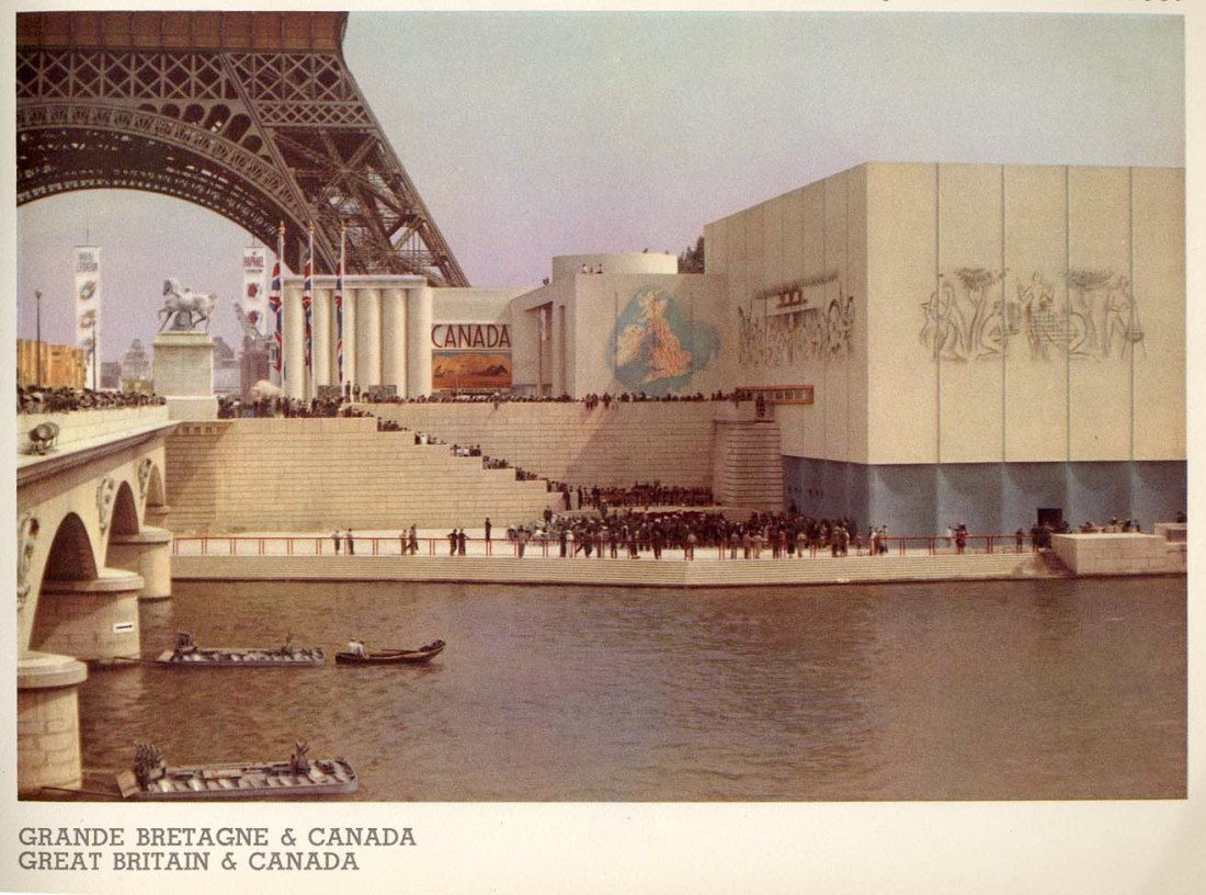 Great Britain and Canada Pavilion. 1937.