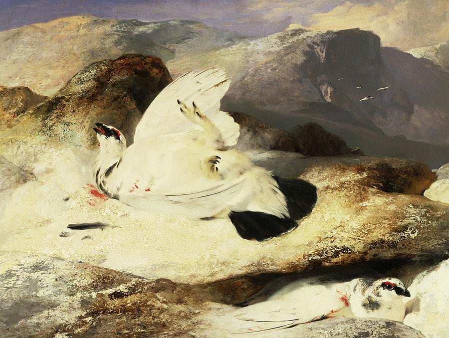"""Ptarmigan in a Landscape."" 1833."
