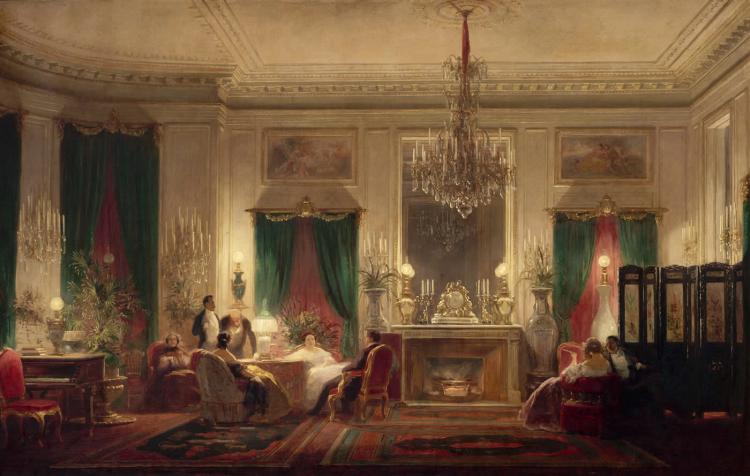 Salon de la princesse Mathilde 1859