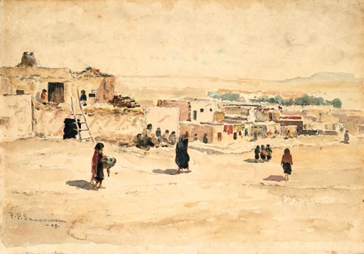 """""""Pueblo Village."""" 1903."""