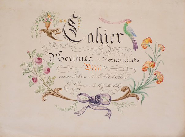 Title page. 1857.
