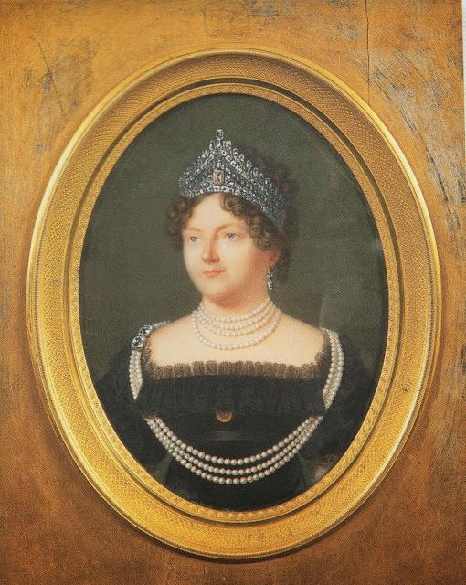 Benner, Maria Fedorovna portrait, 1821