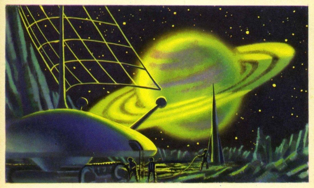 Saturn. No date.