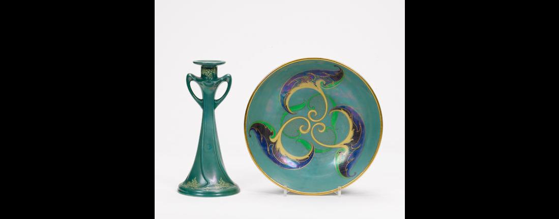 Lustre bowl. ca. 1919-21.