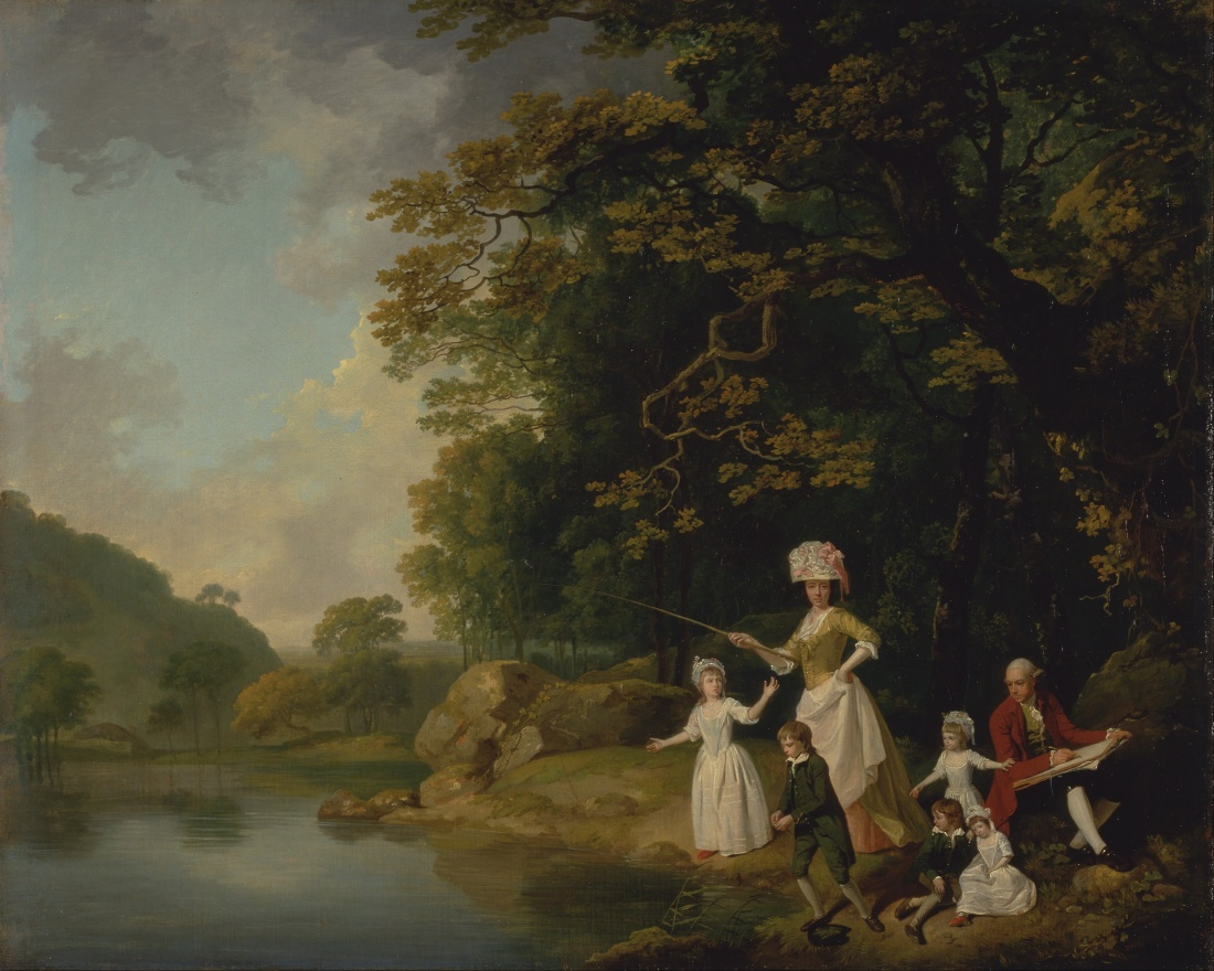 Francis_Wheatley_-_The_Browne_Family_-_Google_Art_Project