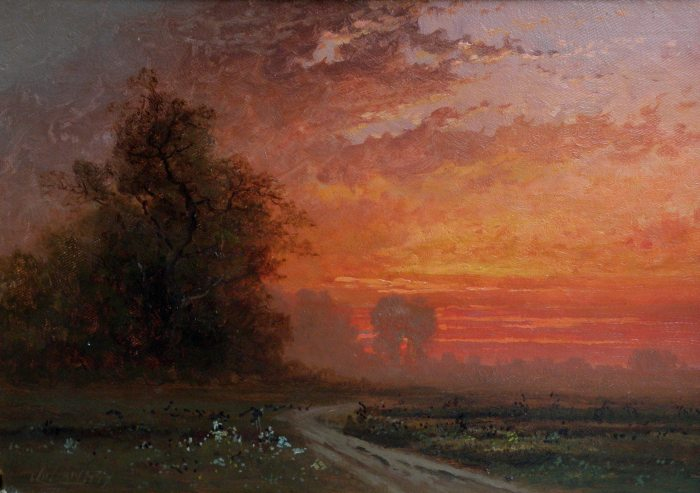 """Sunset."" No date."