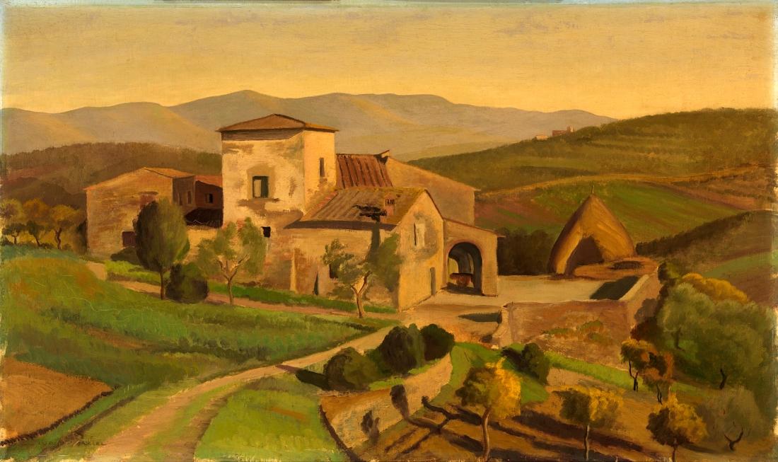 """""""A Tuscan Farm."""" ca. 1926-1931."""