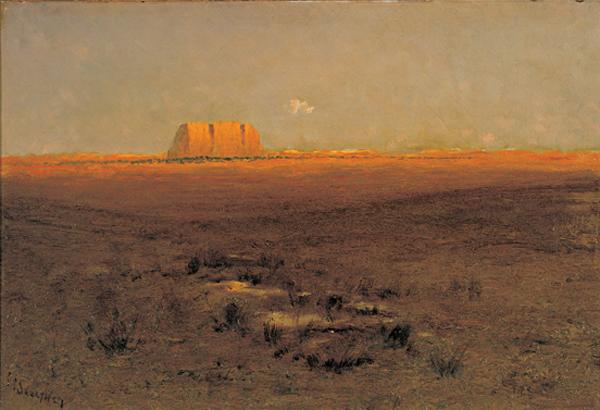 """""""Enchanted Mesa."""" 1902."""