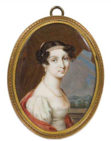 Grand Duchess Anna Pavlovna, daughter of Tsar Paul I and princess of Orange
