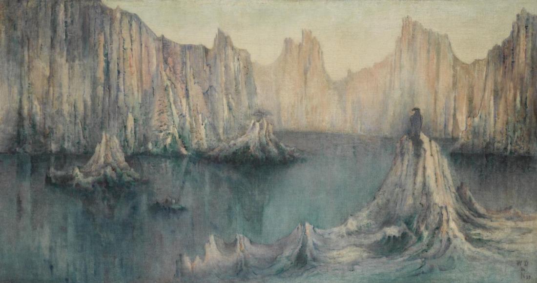 """""""Rêve de Voyage."""" 1899."""
