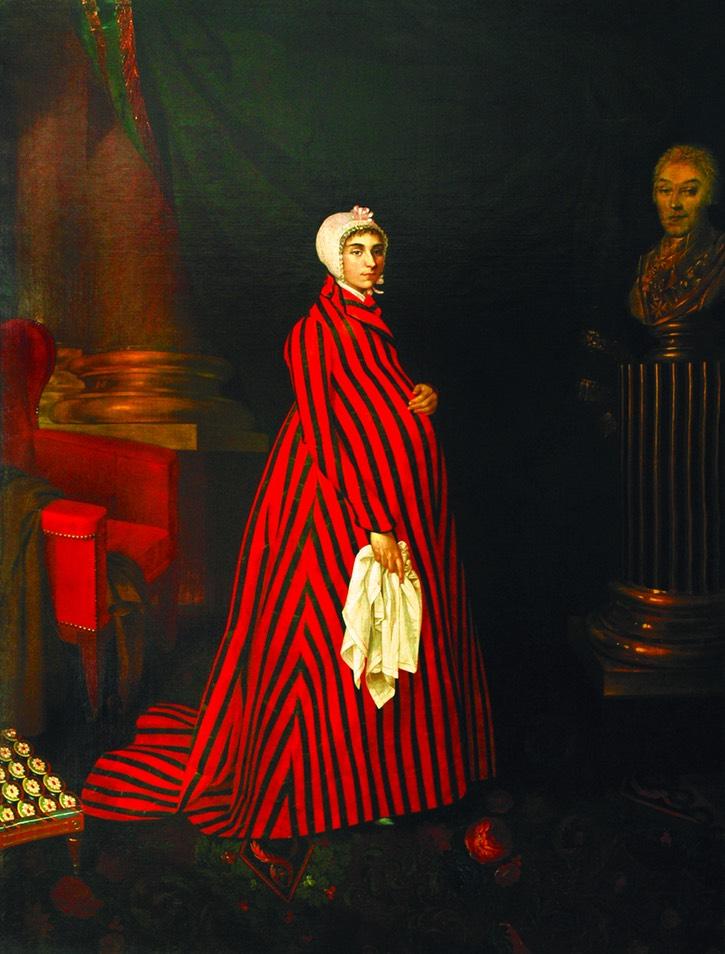 Portrait of Praskovya Ivanovna Zhemchugova-Sheremeteva.